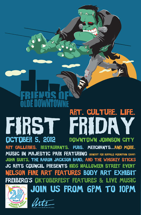 First Friday Poster Halloween